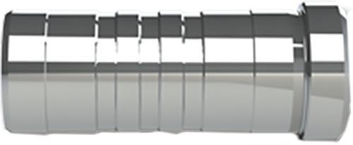 Bolt Nock Flat .300 25gr Aluminum