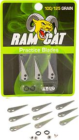 Ramcat Broadhead Practice Blades 100/125 gr. 9pk